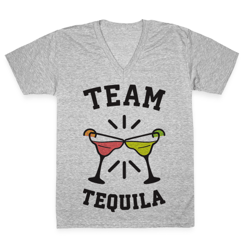 Team Tequila V-Neck Tee Shirt