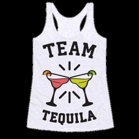 Team Tequila Racerback Tank Top