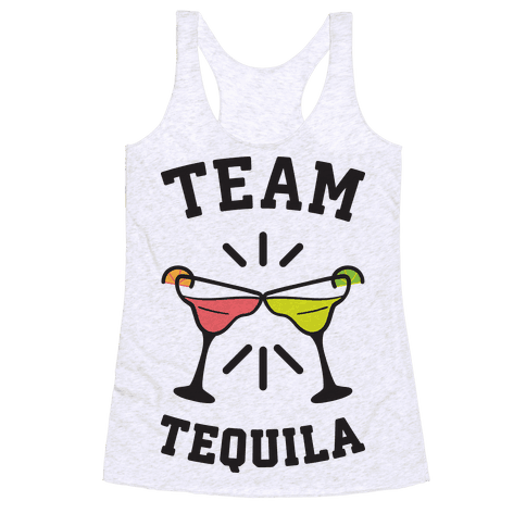 Team Tequila Racerback Tank Top