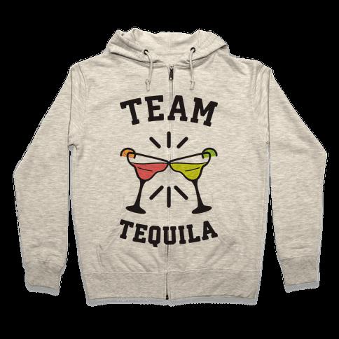 Team Tequila Zip Hoodie