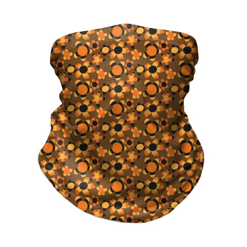 Fall Flower Power Neck Gaiter
