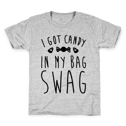 I Got Candy In My Bag Swag Parody Kids T-Shirt