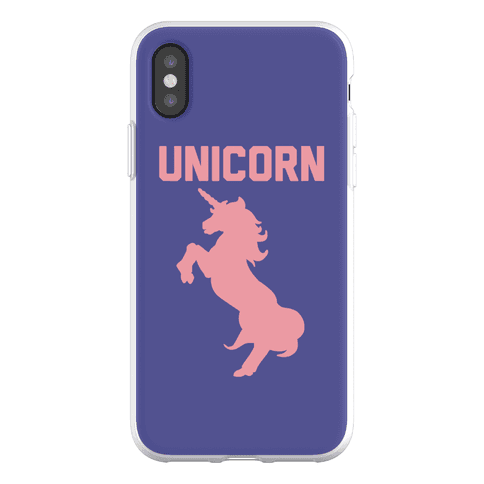 Unicorn Sister Pair 1 Phone Flexi-Case