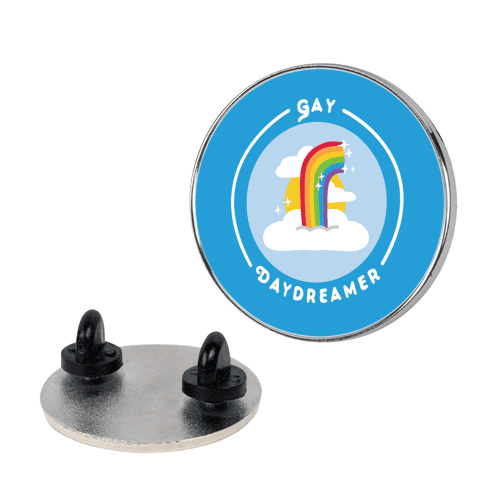 Gay Daydreamer Patch Pin