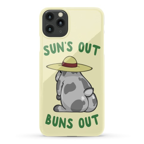 Sun's Out Buns Out Bunny Phone Case