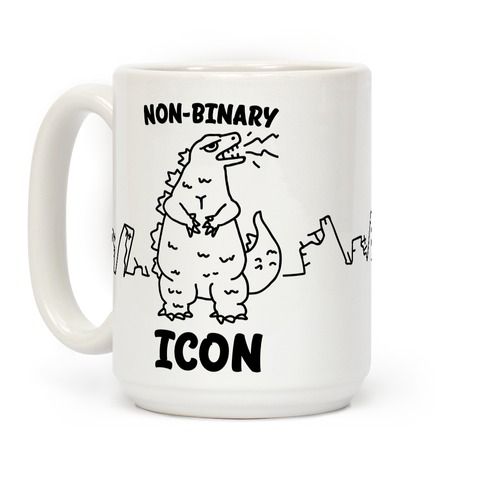 Non-Binary Icon Coffee Mug