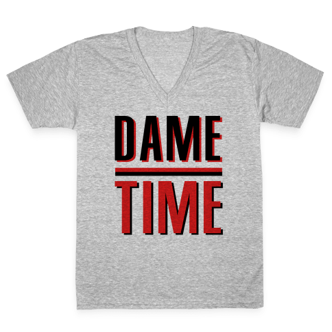 Dame Time V-Neck Tee Shirt