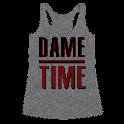 Dame Time Racerback Tank Top