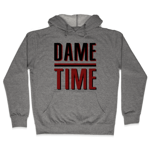 Dame Time Hooded Sweatshirt
