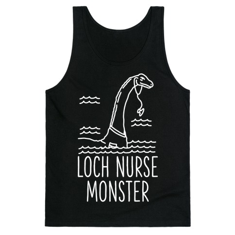 Loch Nurse Monster Tank Top