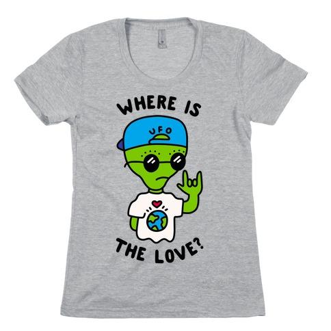 Activist Alien Womens T-Shirt