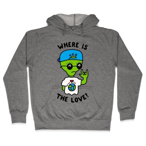 Activist Alien Hooded Sweatshirt