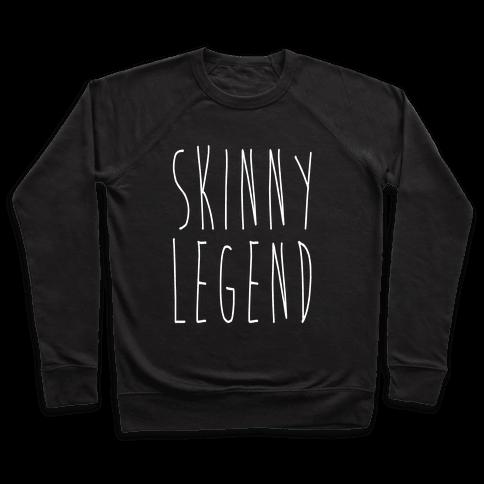 Skinny Legend White Print Pullover
