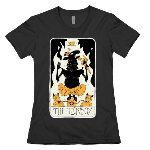 The Heckboy Tarot Card Womens T-Shirt
