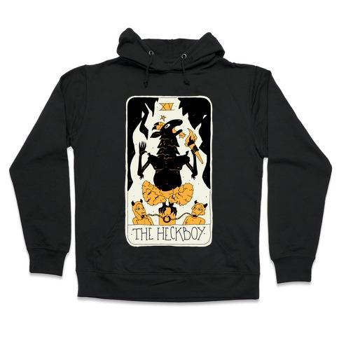 The Heckboy Tarot Card Hooded Sweatshirt