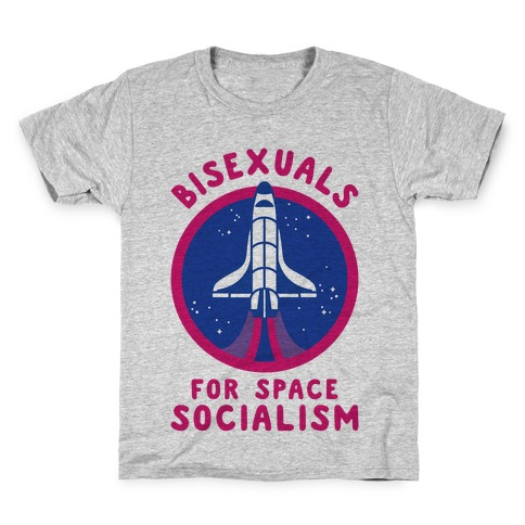 Bisexuals For Space Socialism Kids T-Shirt