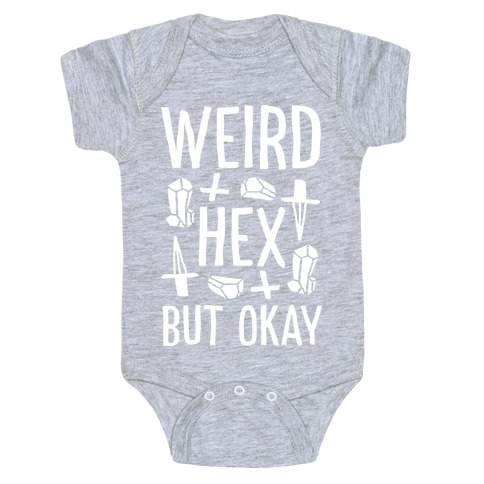 Weird Hex But Okay Baby Onesy