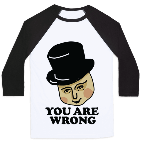 The Fat Conductor Baseball Tee