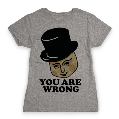 The Fat Conductor Womens T-Shirt