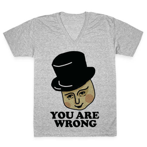 The Fat Conductor V-Neck Tee Shirt