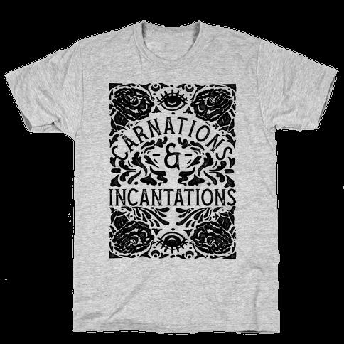 Carnations and Incantations Mens T-Shirt