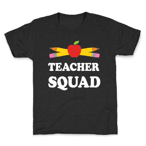 Teacher Squad Kids T-Shirt