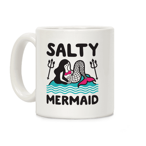 Salty Mermaid Coffee Mug