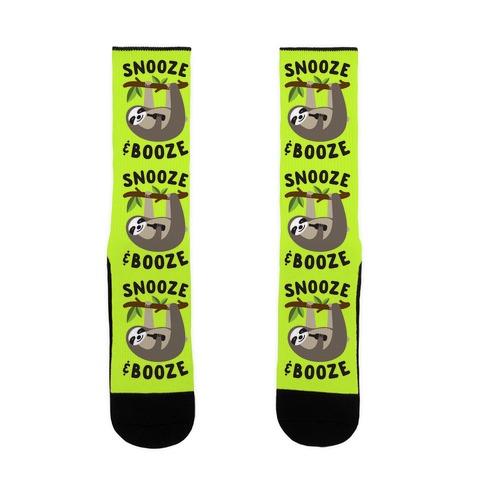 Snooze & Booze Sock