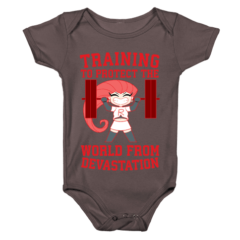 Training To Protect Our World From Devastation Baby One-Piece