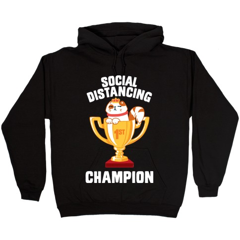 Social Distancing Champion Hooded Sweatshirt
