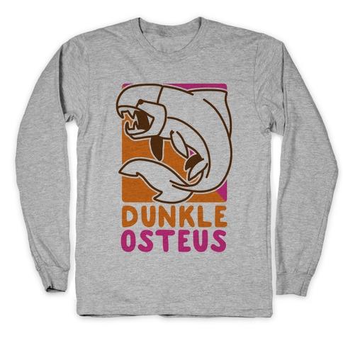 Dunkin' Dunkleosteus Long Sleeve T-Shirt