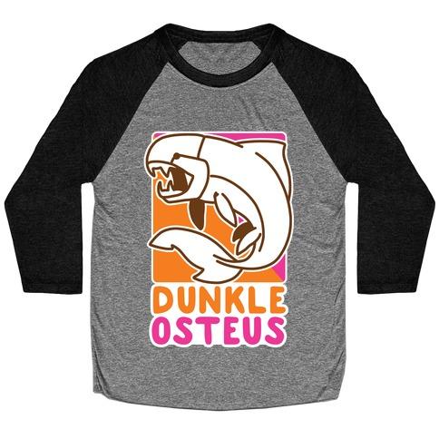 Dunkin' Dunkleosteus Baseball Tee