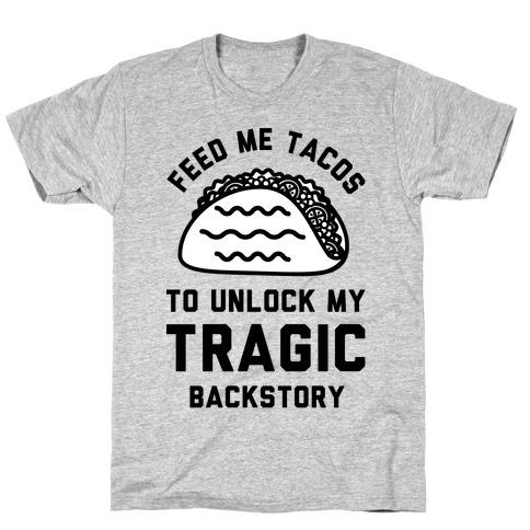 Unlock My Tragic Backstory Mens T-Shirt