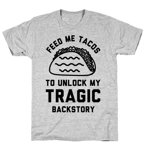 Unlock My Tragic Backstory Mens T-Shirt