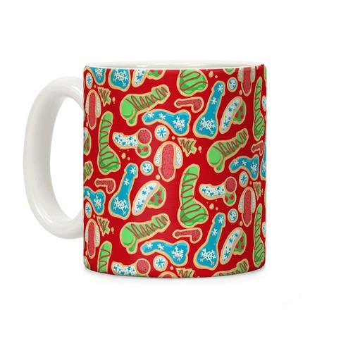 Phallic Christmas Cookies Coffee Mug