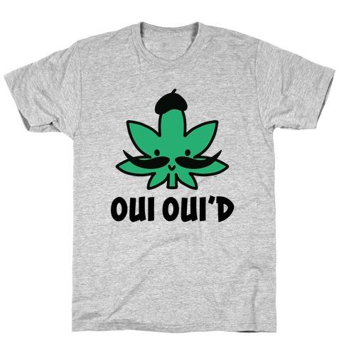 Oui Oui'd Mens/Unisex T-Shirt