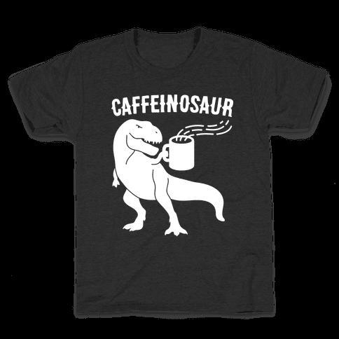 Caffeinosaur Kids T-Shirt