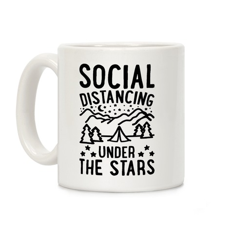 Social Distancing Under The Stars Coffee Mug