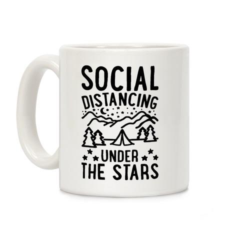 Social Distancing Under The Stars Coffee Mug