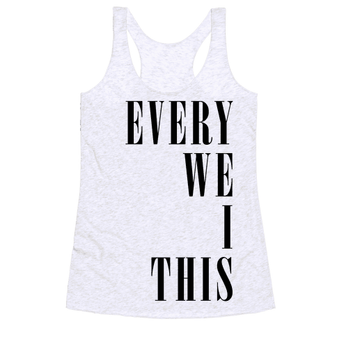 Every Time We Touch Pair 1 Racerback Tank Top