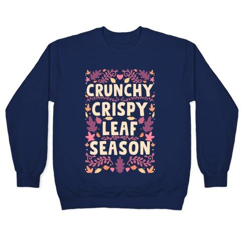 Crunchy Crispy Leaf Season Pullover