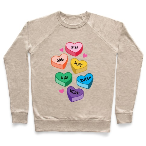 Gay Lingo Candy Hearts Pullover