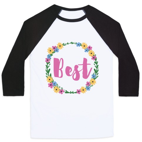 Best Buds (1 of 2 pair) Baseball Tee
