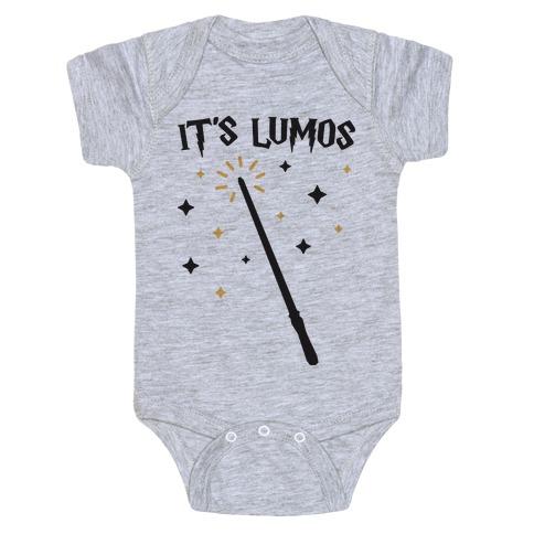 It's Lumos Baby Onesy