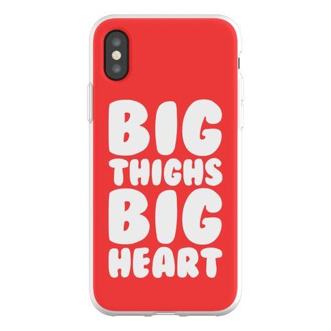 Big Thighs Big Heart Phone Flexi-Case