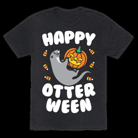 Happy Otterween (White)