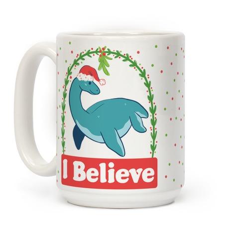 I Believe - Christmas Nessie Coffee Mug