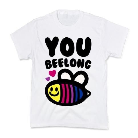 You Belong Bisexual Pride Kids T-Shirt