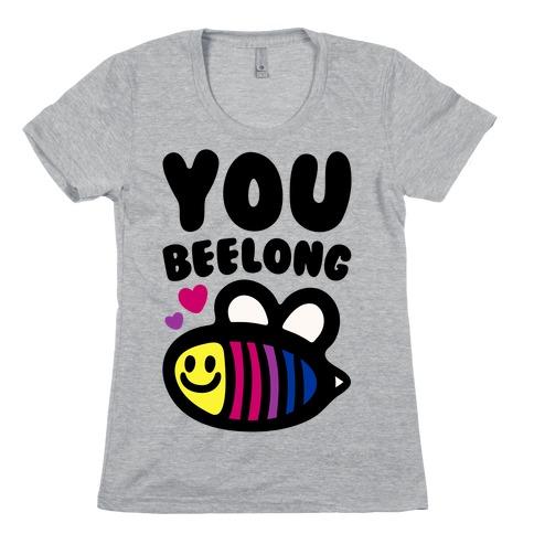 You Belong Bisexual Pride Womens T-Shirt