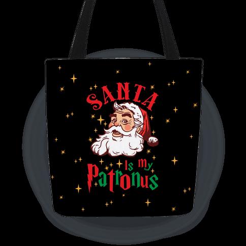 Santa Is My Patronus Tote